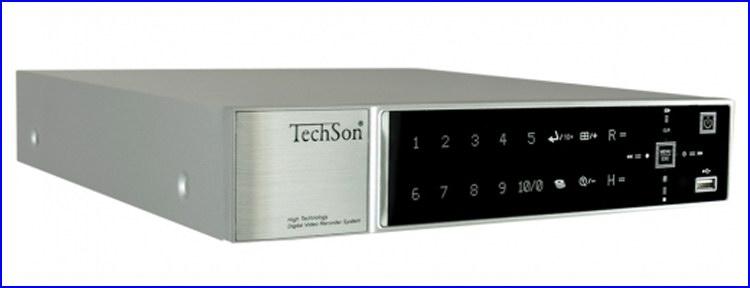 TechSon DVR BD1104 Black Diamond kamera rendszer és videó rögzítő