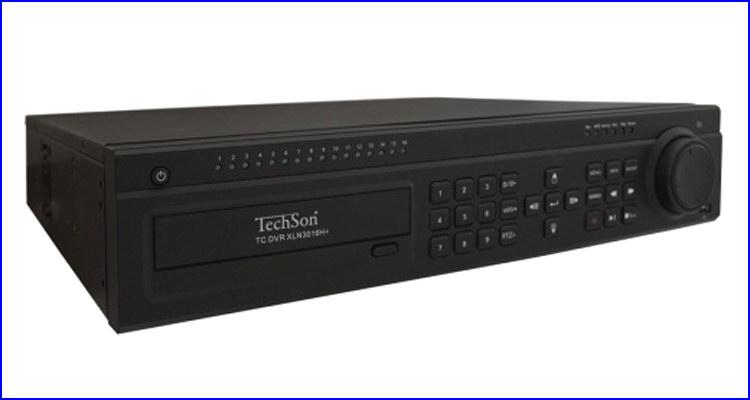 TechSon DVR XLN3016H+ kamera rendszer és videó rögzítő